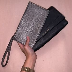 2-IN-1 TAHARI WRISTLET IN BLACK AN